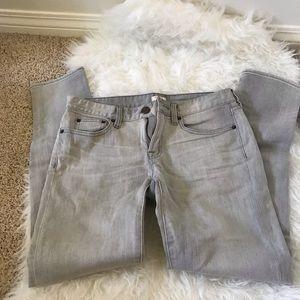 J Crew gray jeans size 27